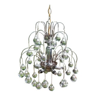 20th Century Modern Sputnik Raindrop Chandelier For Sale