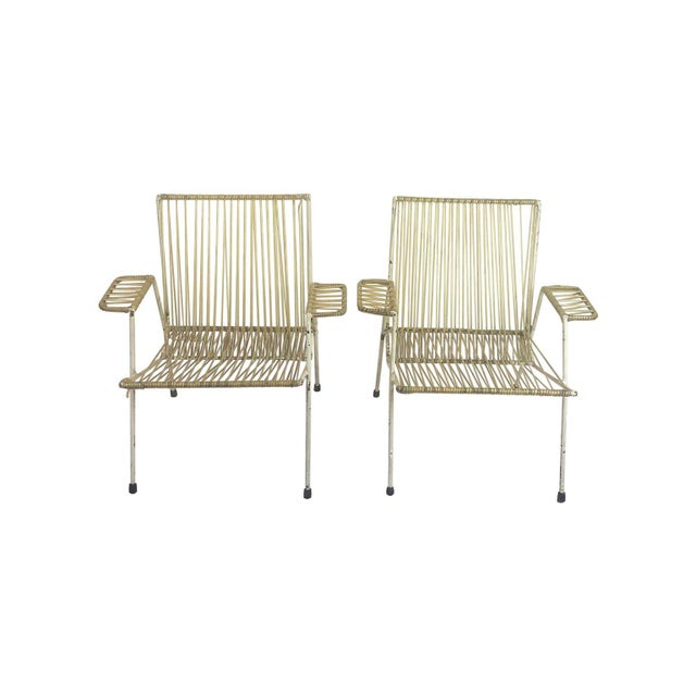 1960s Midcentury Mexican Armchairs in the Style of Clara Porset - a Pair For Sale - Image 5 of 5