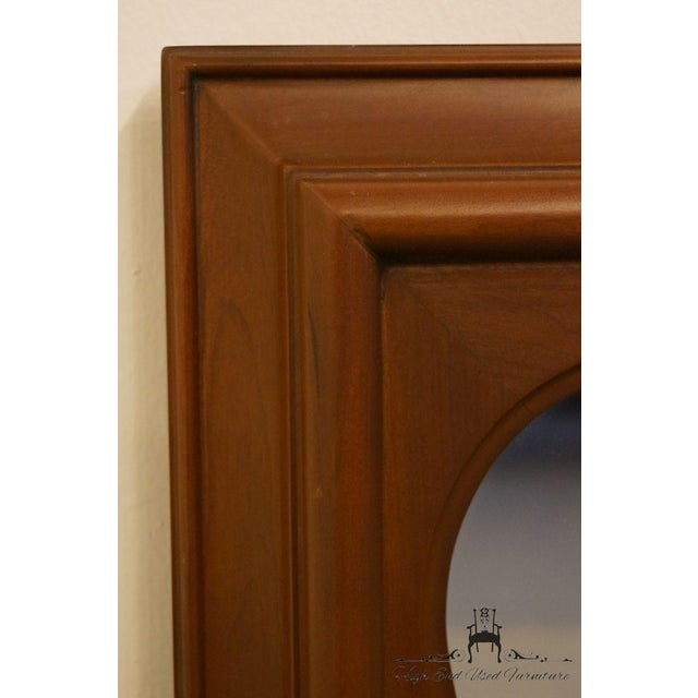 Late 20th Century Vintage Kindel Grand Rapids Dresser / Wall Mirror For Sale In Kansas City - Image 6 of 11