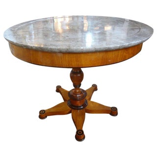 19th Century French Charles X Period Center Table or Gueridon For Sale