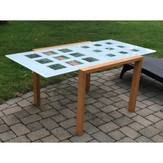 Mid-Century Modern Ligne Roset 'Extensia' Expandable Glass Dining Table Preview
