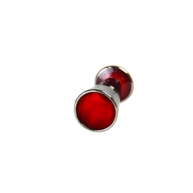 Vintage Crimson Liquor Cordials - Set of 6 - Image 3 of 4