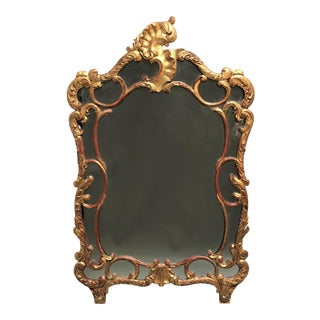 19th Century Louis XV Giltwood Mirror For Sale
