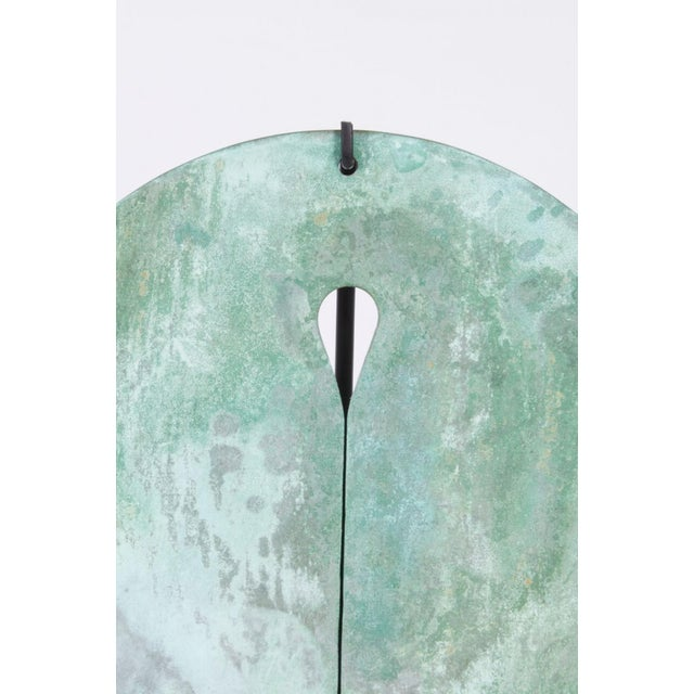 1960s Bronze Harry Bertoia Gong, 1960s For Sale - Image 5 of 8