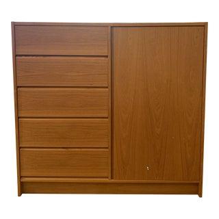 1960s Mid-Century Modern Teak Storage Cabinet For Sale