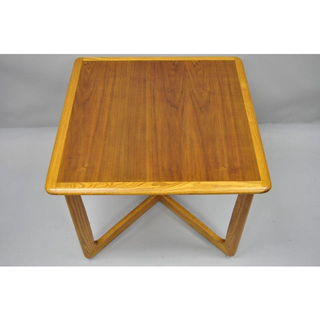Sqaure Mid Century Modern Accent Chairs.Altavista Lane Mid Century Modern Walnut Square Side Coffee Table