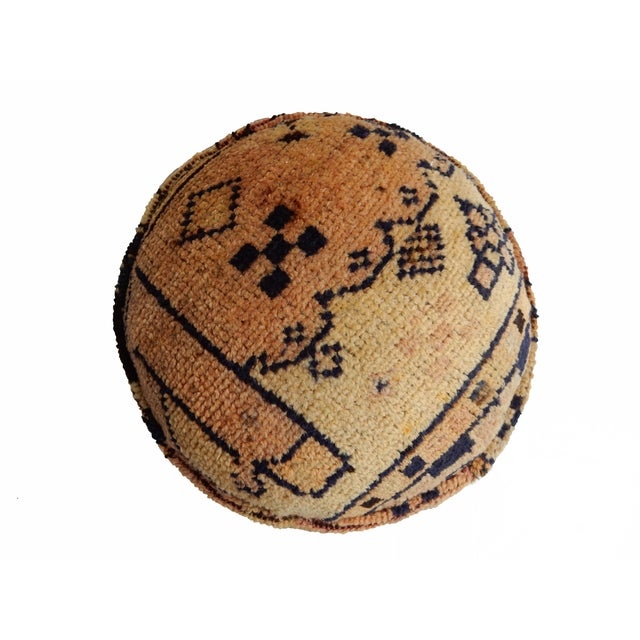 Ottoman Upholstered with Antique Tribal Herat Rug - Image 3 of 5