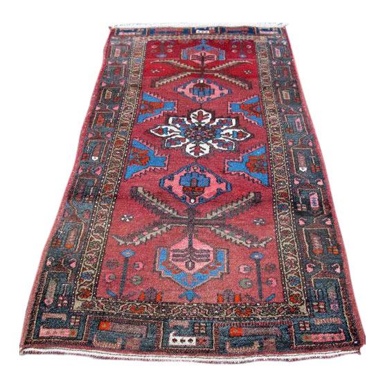 Persian Asad-Abad Hamedan Carpet - 4′ × 7′ - Image 1 of 6
