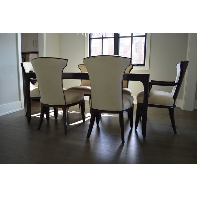 Barbara Barry Realized By Henredon Perfect Parsons Dining Table Chairs