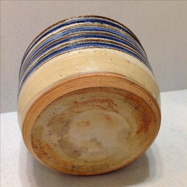 Vintage Handmade Pottery Bowl - Image 9 of 10