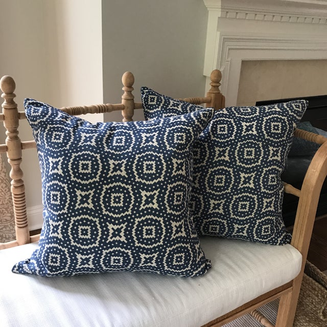 Raoul Textiles Linen Pillows - A Pair - Image 2 of 8