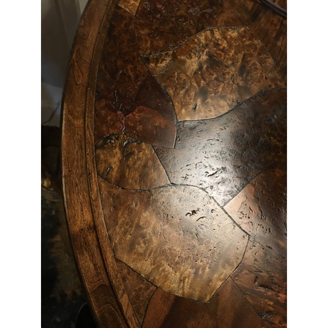 Traditional Taracea Zola Lamp Table For Sale - Image 9 of 13
