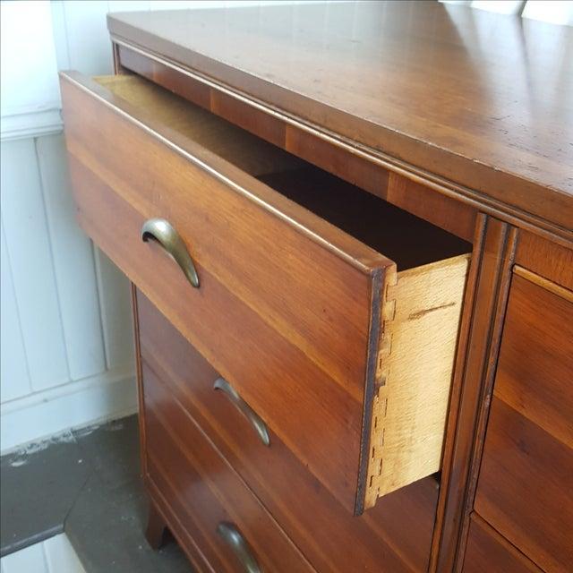 Mid-Century Transitional Antique Dresser - Image 4 of 5