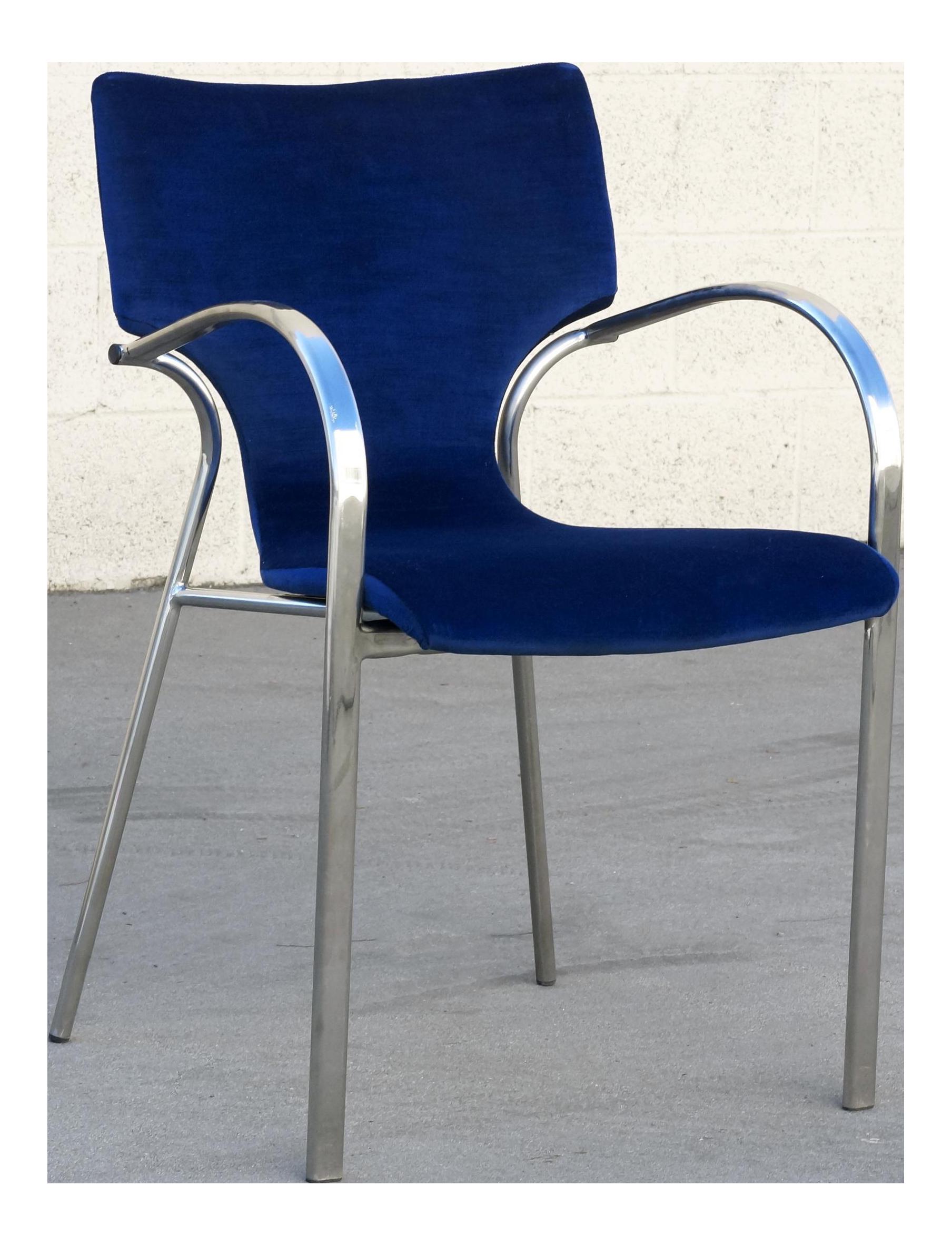 bernhardt furniture logo. Vintage Strada Side Chair By Bernhardt Design Furniture Logo