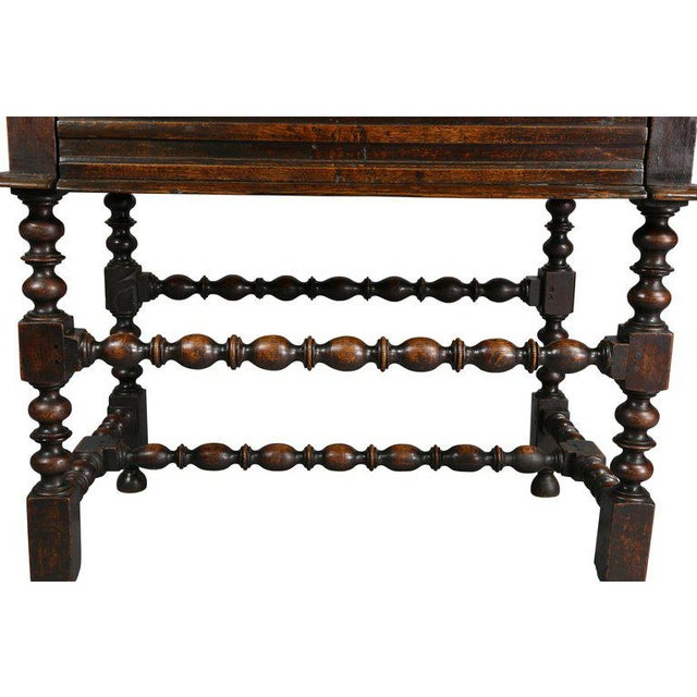 Charles II Oak Tavern Table For Sale - Image 4 of 12
