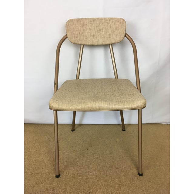 Vintage Stylaire Mid Century Modern Folding Table and Chairs For Sale - Image 4 of 13