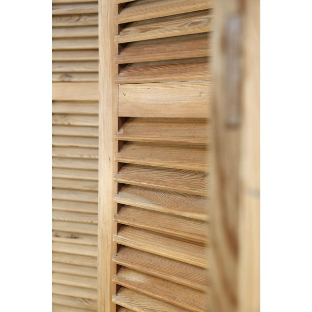 Set of Six Vintage French Shutters For Sale In Houston - Image 6 of 13