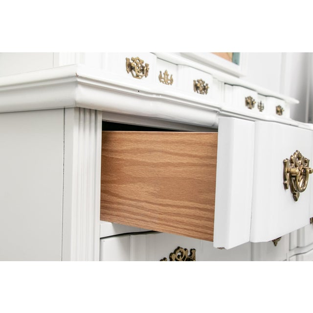 20th Century Superb Chippendale Pagoda Style Dresser For Sale - Image 9 of 11
