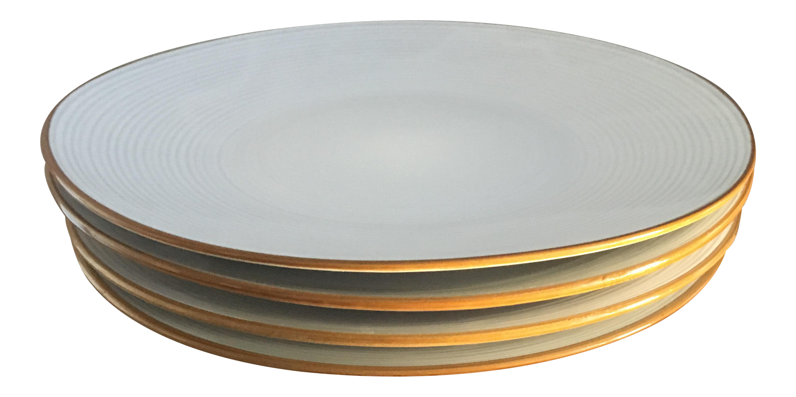 Thomas O\u0027Brien Vintage Modern Dinner Plates - Set of 4  sc 1 st  Chairish & Thomas O\u0027Brien Vintage Modern Dinner Plates - Set of 4 | Chairish
