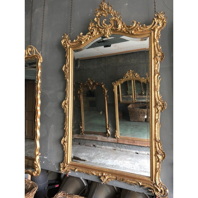 Louis XV 19th Century Mirror For Sale - Image 3 of 9