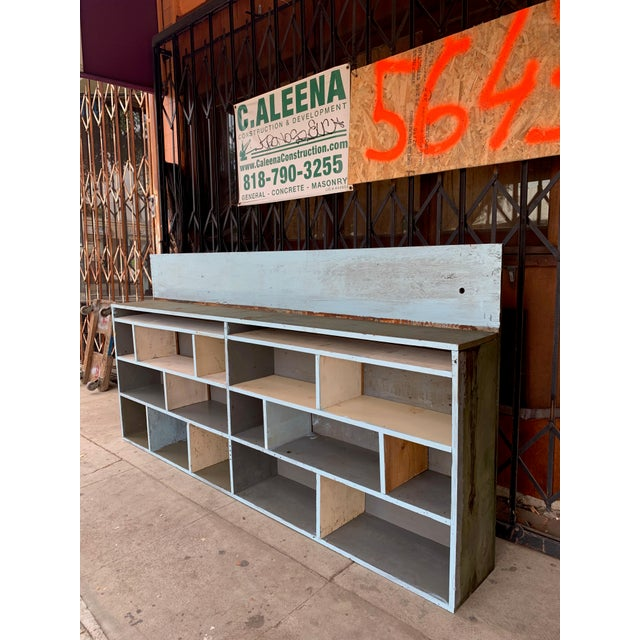 Industrial 1950's Industrial Style Custom Made Cabinet For Sale - Image 3 of 9