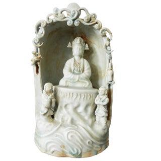 Celadon Niche W/Lord Buddha Preview