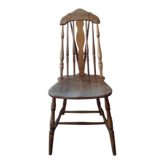 1930s Antique Spindle Chair For Sale