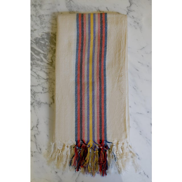Linen Turkish Hand Made Towel With Natural/Organic Cotton For Sale - Image 8 of 8