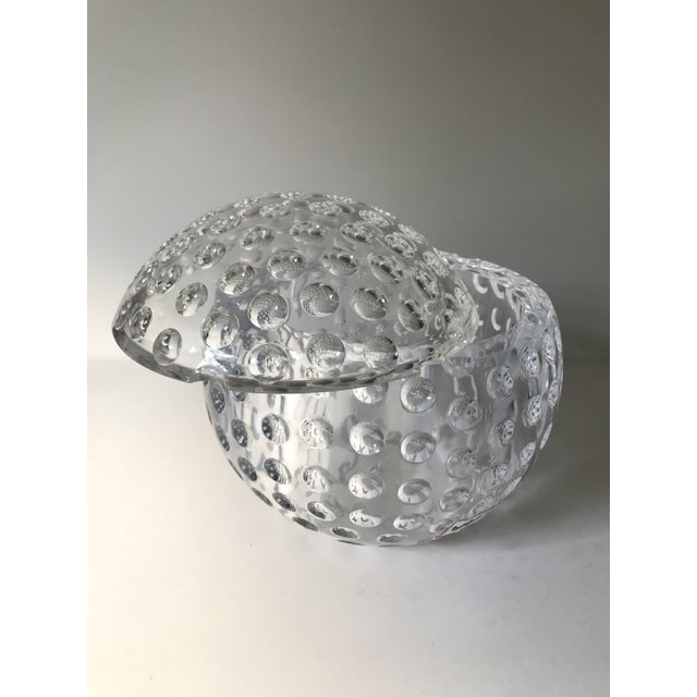 Contemporary Vintage Lucite Sphere Ice Bucket For Sale - Image 3 of 6