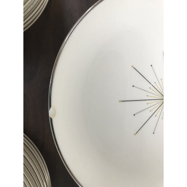 1960s Homer Laughlin Modern Star Dishes For Sale - Image 5 of 8