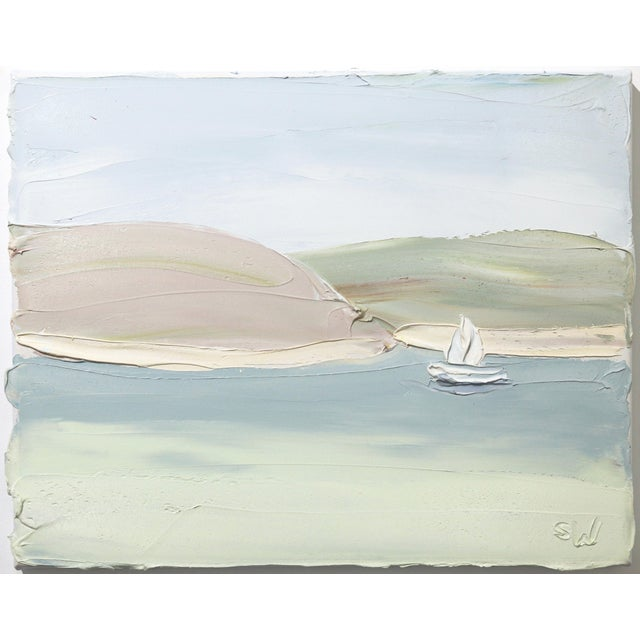 """Pittwater Snappermans Study 2 (7.8.19)"" Original Artwork by Sally West For Sale - Image 10 of 10"