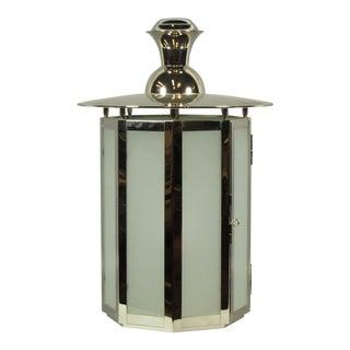 Vaughan Vincennes Glass Lantern For Sale