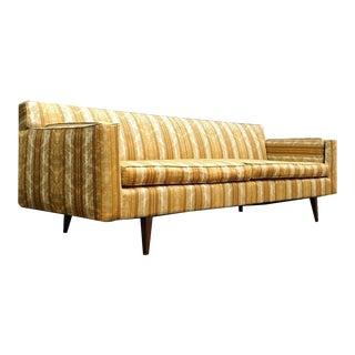 1950's Mid Century Modern Upholstered Retro Sofa For Sale