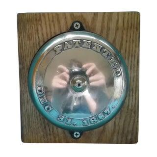 Antique Patented 1867 Doorbell
