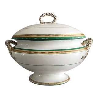 Copeland Porcelain Soup Tureen For Sale