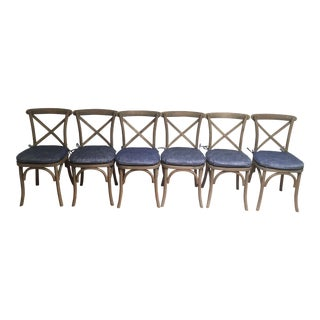 Restoration Hardware Madeleine Dining Chairs - Set of 6