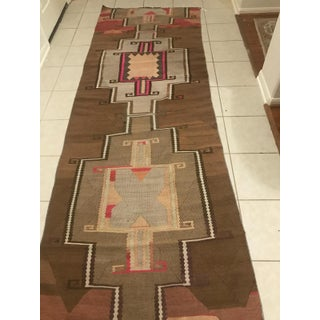 Turkish Vintage Kars Antique Kilim Rug Runner-3'4x10 Preview