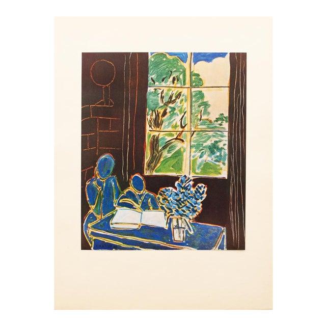 1947 Henri Matisse, Original Period Interieur Lithograph For Sale