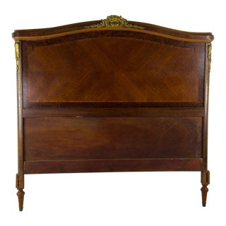 French Empire Louis XV Full Size Headboard