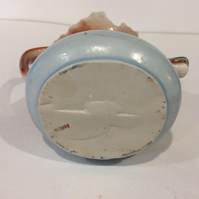 Ceramic Vintage Porcelain Moose Creamer For Sale - Image 7 of 11