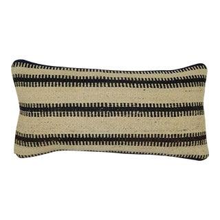 Throw Pillow 10 X 20 Inches (25 X 50 Cm) Lumbar Pillow Home Design Kilim Cushion Art Deco Pillow Cover, Ethnic Turkish Cushion Cover For Sale