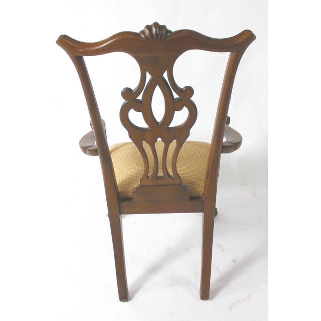 Selling this wonderful set of 8 mahogany Chippendale style ball and claw foot dining chairs from a wonderful Boston...