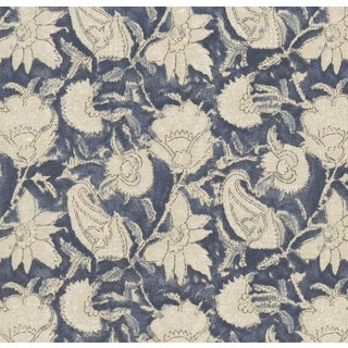 Ralph Lauren Belgrade Batik Floral Fabric For Sale