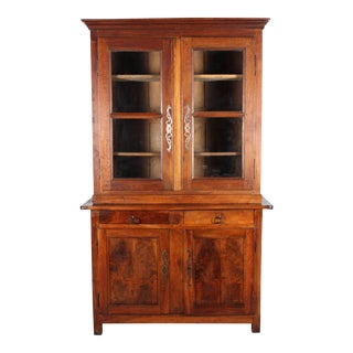 19th-C. French Provincial Hutch For Sale