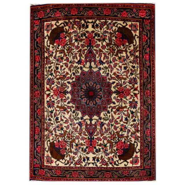 """Vintage Persian Rug, 2'7"""" X 3'6"""" For Sale In New York - Image 6 of 6"""