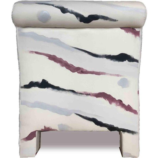 Sherrill Furniture Modern Sherrill Furniture Slipper Chairs- a Pair For Sale - Image 4 of 9