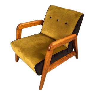 Mid-Century Lounge Club Chair For Sale