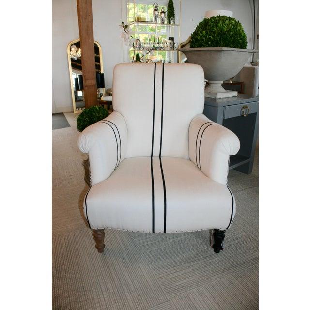 Bunakara Fingerprint Arm Chair For Sale - Image 4 of 7