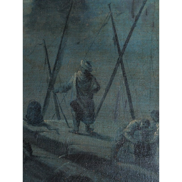 18th Century French Trumeau with Grisaille Painting - Image 6 of 8
