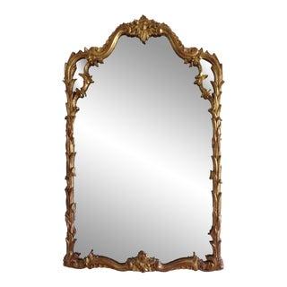 Italian Venetian Gilt Carved Mirror